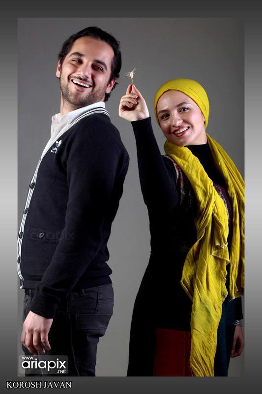 عطا عمرانی و گلاره عباسی , عکس جدید عطا عمرانی , عکس یادگاری بازیگران شیدایی , طاها در شیدایی