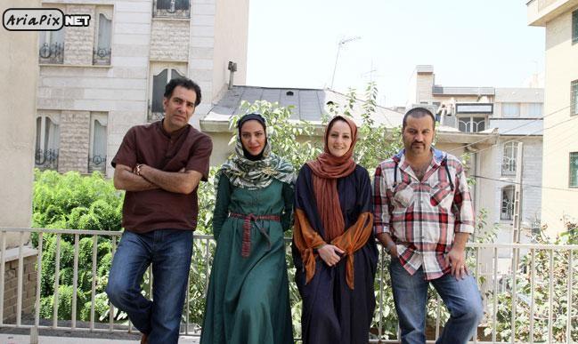 عکس جدید از بازیگران ساختمان پزشکان