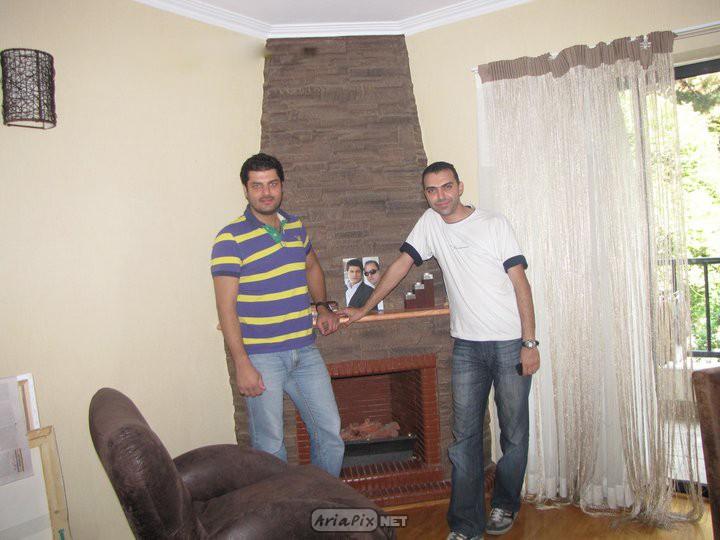 عکس های جدید سام درخشانی و پسرش