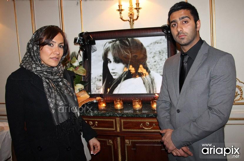 عکسهای مراسم ختم ساناز کیهان با حضور هنرمندان