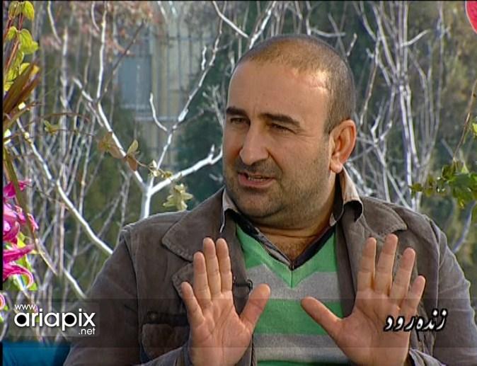 عکسهای جدید مهران احمدی و هومن سیدی در برنامه زنده رود