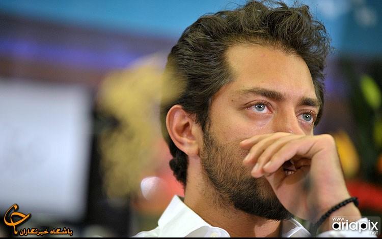 نشست فیلم پل چوبی مهناز افشار و بهرام رادان