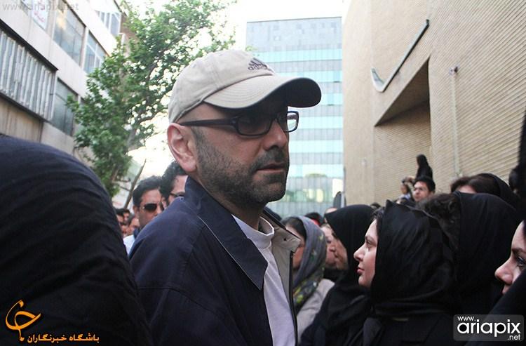 عکسهای مراسم ختم عسل بدیعی بازیگر ایرانی