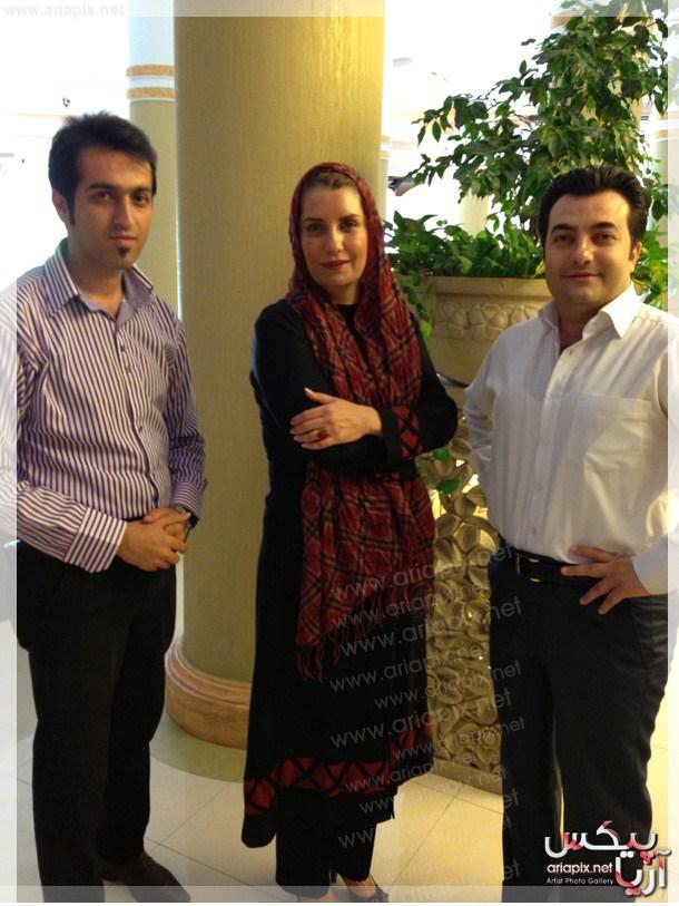 عکسهای جدید هادی کاظمی و فریبا کوثری در برنامه صبح خلیج فارس