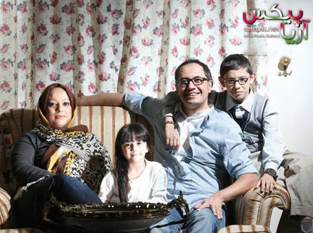 عکسهای سیاوش مفیدی و همسرش و پسرش,خانواده سیاوش مفیدی