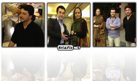 عکسهای سپیده خداوردی و امیرحسین صدیقی برنامه صبح خلیج فارس 92