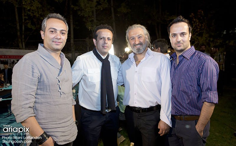 احمد مهرانفر,محسن تنابنده,سامان مقدم و علی قربان زاده / مرداد 92 / سریال شاهگوش