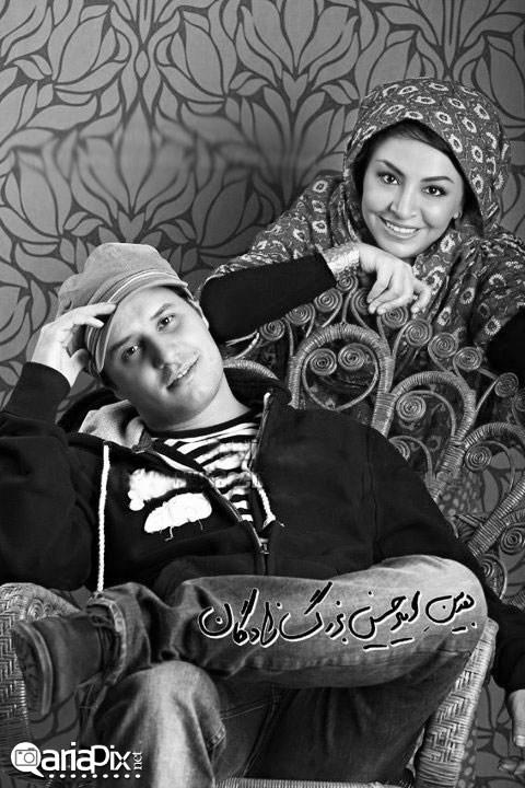 جواد عزتی و همسرش,عکس جدید جواد عزتی و همسرش مه لقا باقری