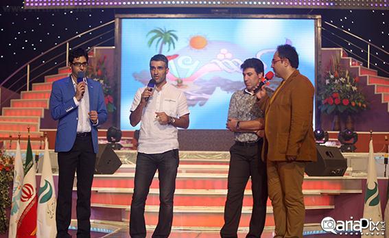 بازیگران در جشنوراه تابستانی کیش 92