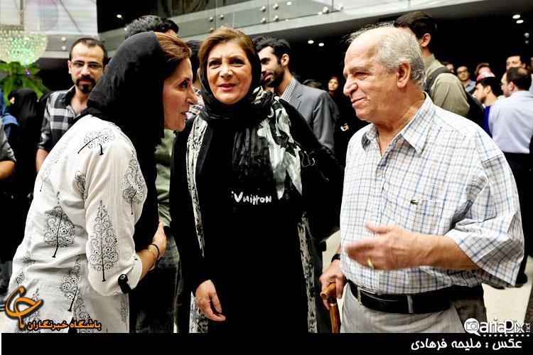 محسن قاضی مرادی و همسرش مهوش وقاری