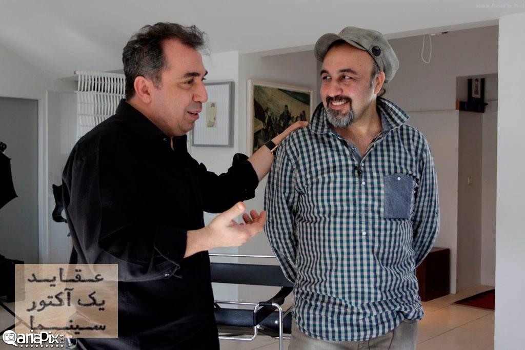 رضا عطاران و سیامک انصاری در عقاید یک آکتور سینما