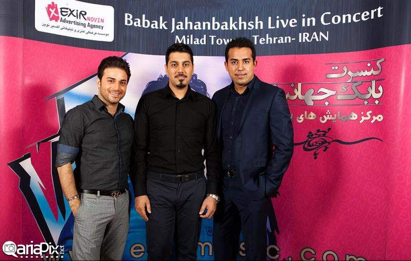 کنسرت بابک جهانبخش مهر 92 خواجه امیری و جواد عزتی