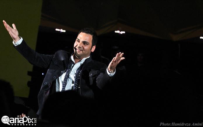 احسان علیخانی در کنسرت فرزاد فرزین آبان 92