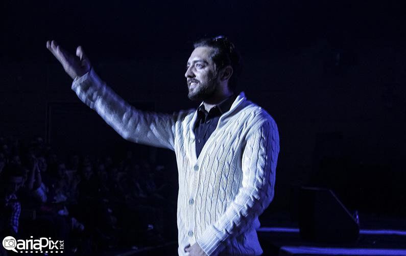 عکسهای کنسرت رضا یزدانی با حضور پژمان جمشیدی سام درخشانی بهرام رادان
