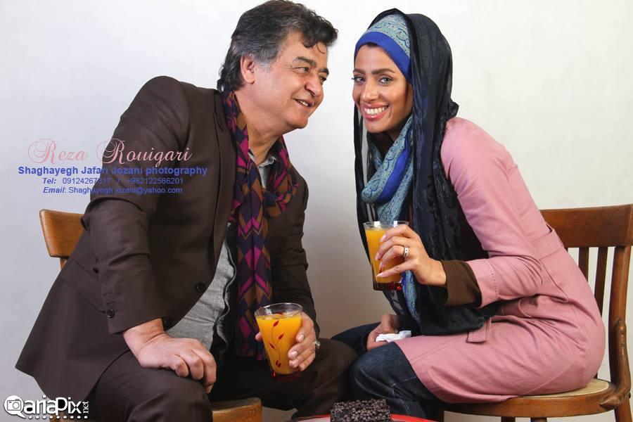 رضا رویگری و همسر دومش تارا کریمی