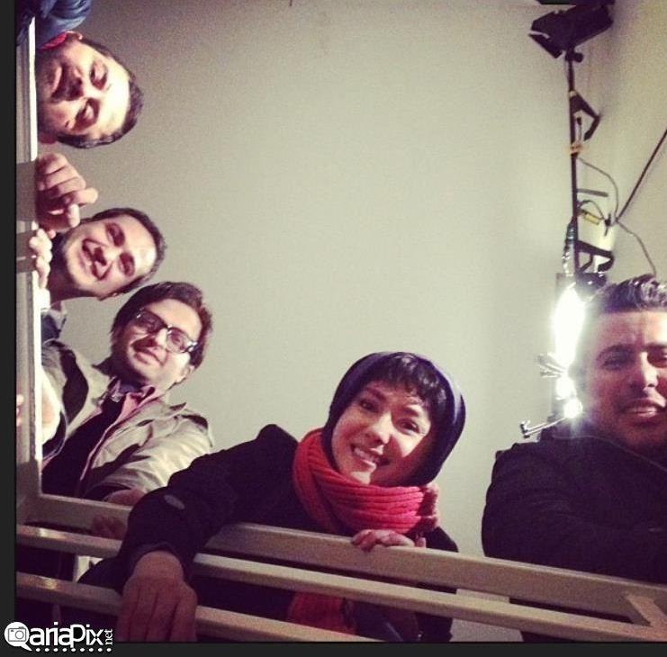 عکسهای پشت صحنه فیلم خط وِیژزه با زای هانیه توسلی میلاد کی مرام مصطفی زمانی هومن سیدی