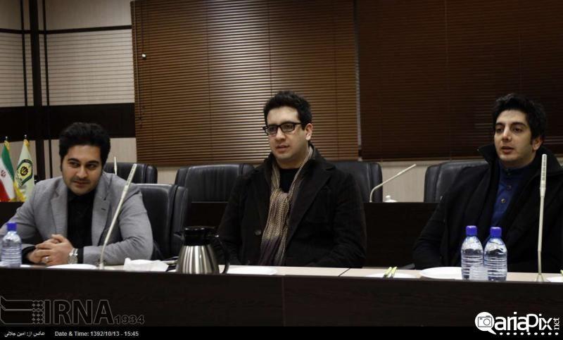 دیدار خوانندگان پاپ با فرمانده نیروی انتظامی