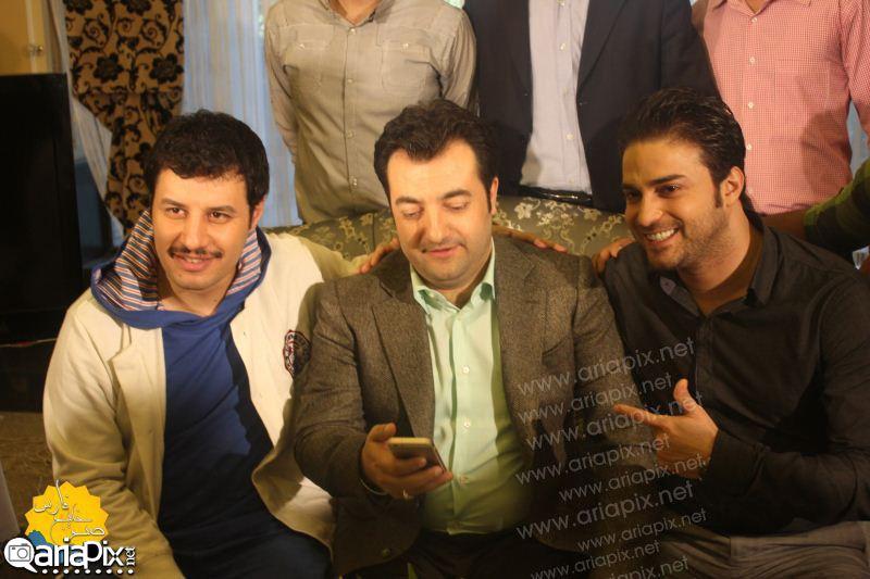 جواد عزتی و بابک جهانبخش در صبح خلیج فارس دی 92