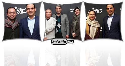 بازیگران و هنرمندان در کنسرت علیرضا قربانی