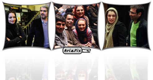 حاشیه اختتامیه سومین جشنواره جام جم بازیگران 92