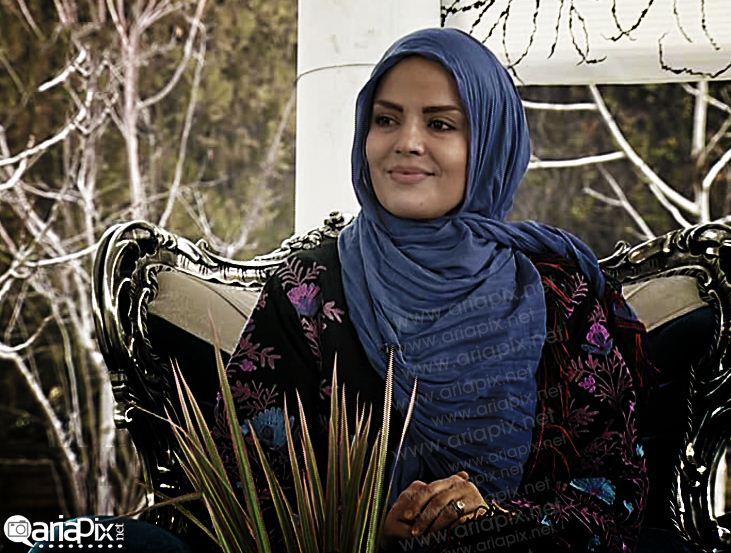 سپیده خداوردی و حمیدرضا پگاه بازیگران در زنده رود اصفهان