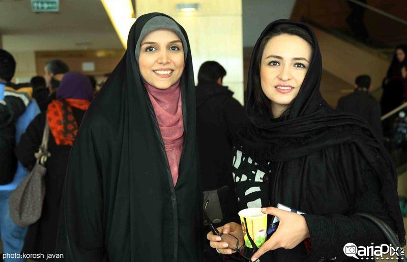 بازیگران در حاشیه جشنواره فیلم فجر