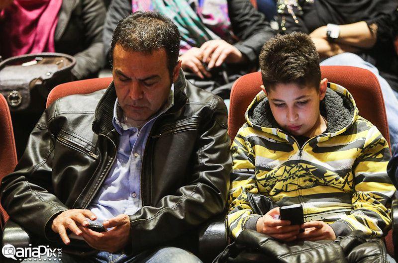 فریبرز عرب نیا و پسرش جانیار عرب نیا
