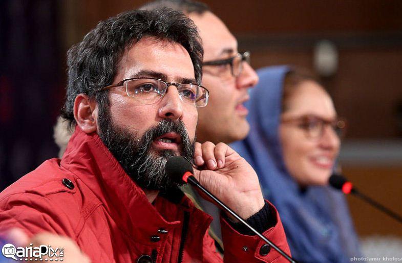نشست خبری فیلم بیگانه  با حضور مهناز افشار و امیر جعفری