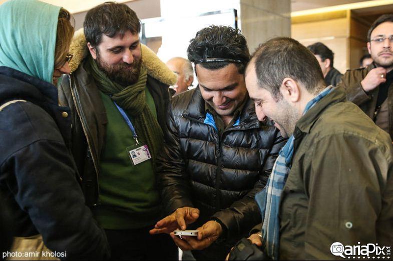بازیگران و هنرمندان حاشیه جشنواره فیلم فجر 92