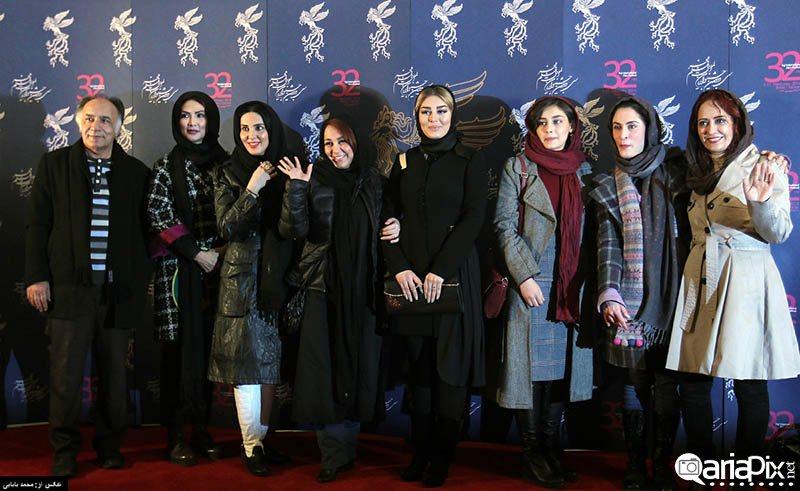 عکسهای بازیگران و هنرمندان حاشیه جشنواره فیلم فجر 92