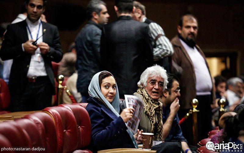 الهام پاوه نژاد در جشن حافظ 95 - سایت عکس بازیگران.