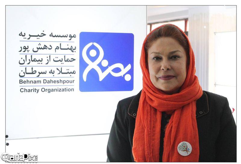 بازیگران در جشنواره نوروزی 93 موسسه خیریه بهنام دهش پور