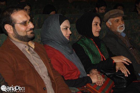 عکسهای مریلا زارعی در نشست فیلم شیار در مشهد