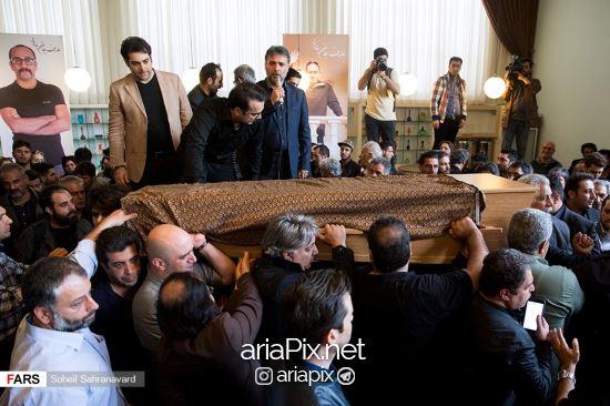 تشییع جنازه عارف لرستانی