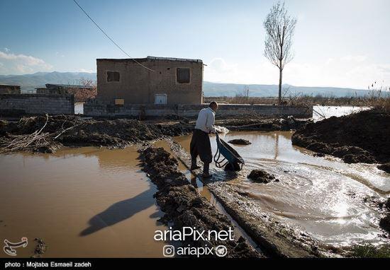 سیل آذربایجان شرقی ,عکسهای سیل اذربایجان