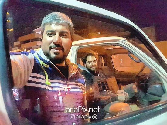 محسن کیایی و بهرام رادان