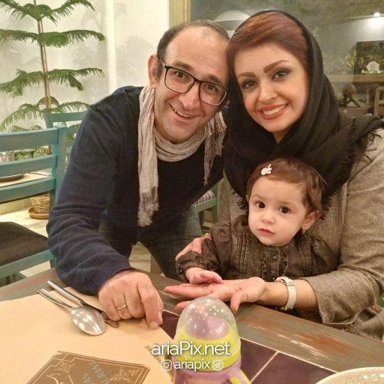 هدایت هاشمی و همسرش و دخترش