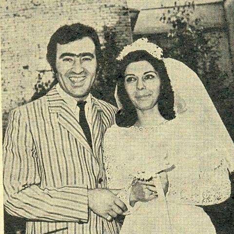 ثریا قاسمی و همسرش قبل از انقلاب