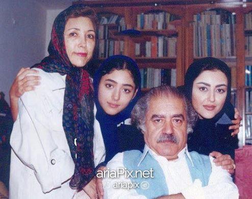 عکس خانوادگی بهزاد فراهانی