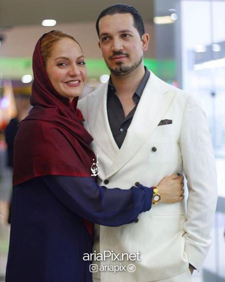 مهناز افشار و همسرش