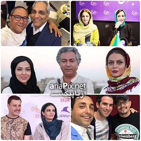 عکس جدید بازیگران تیر ۹۶