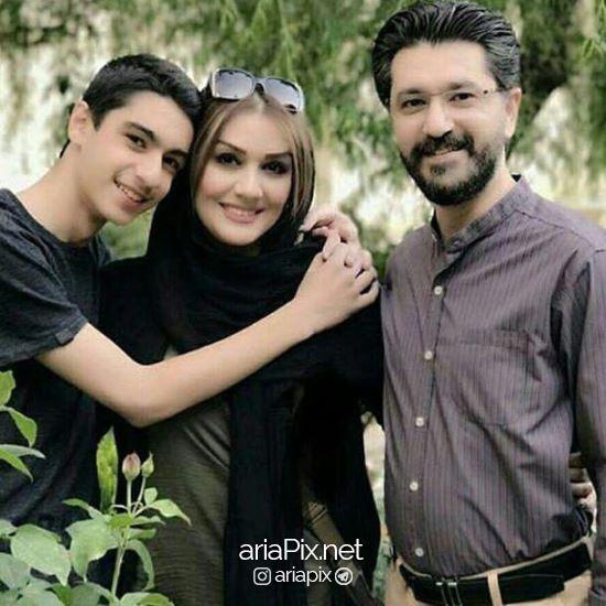 امیرحسین مدرس و همسر جدیدش