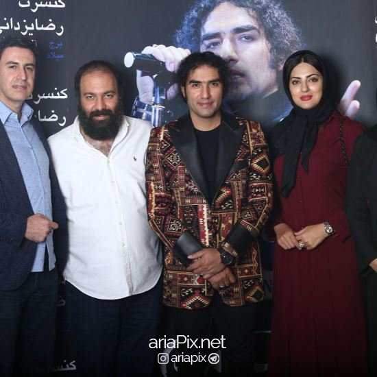 هلیا امامی در کنسرت رضا یزدانی
