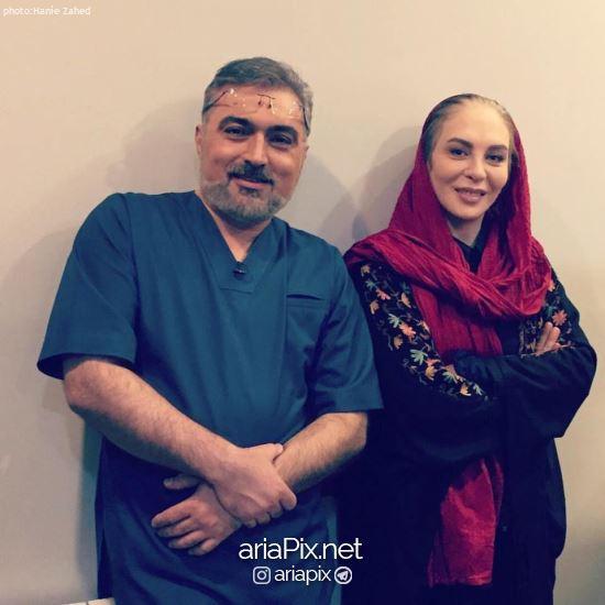 عکس دکتر صابری با بازیگران