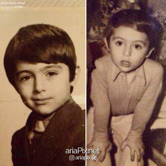 دوران کودکی دکتر صابری