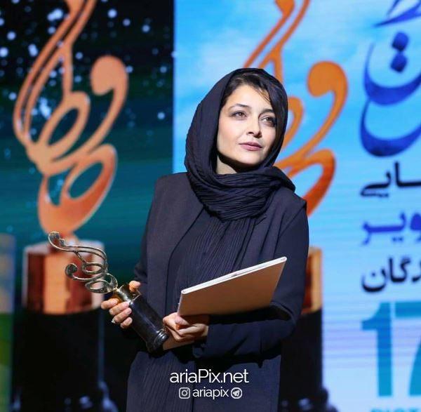 ساره بیات در جشن حافظ
