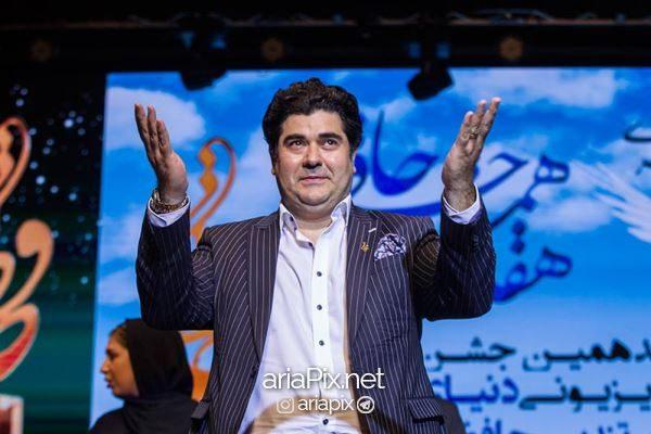 سالار عقیلی در جشن حافظ