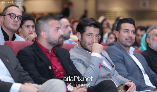 هومن سیدی و محمدرضا گلزار در کنار هم