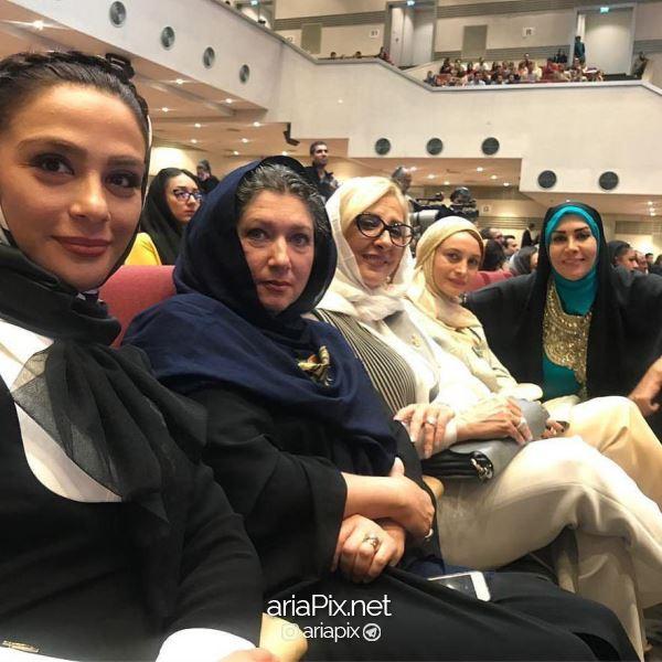 بازیگران زن در جشن حافظ