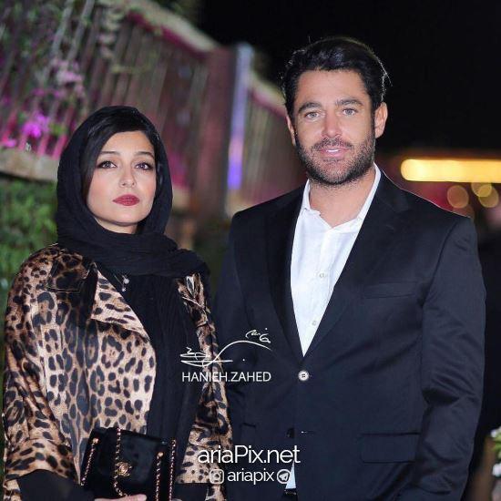 محمدرضا گلزار و ساره بیات در جشن حافظ